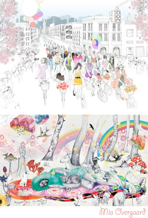 Mia Overgaard Illustration