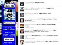 twitter bday wishes
