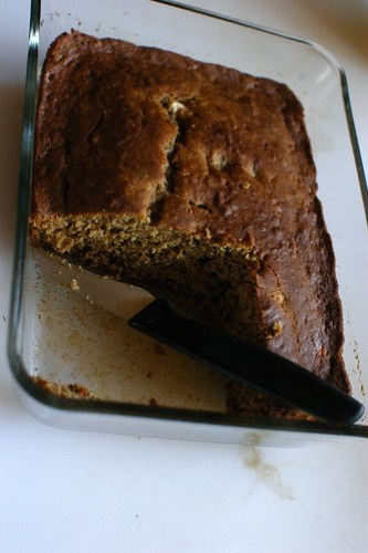 banana bread, spontaneously