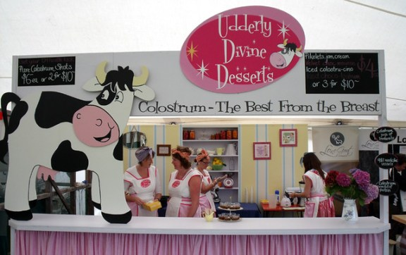 Udderly Divine Desserts at Hokitika Wildfoods Festival. Photo by testpatern @ Flickr