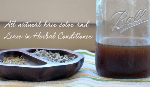 All Natural Hair Dye and Conditioner
