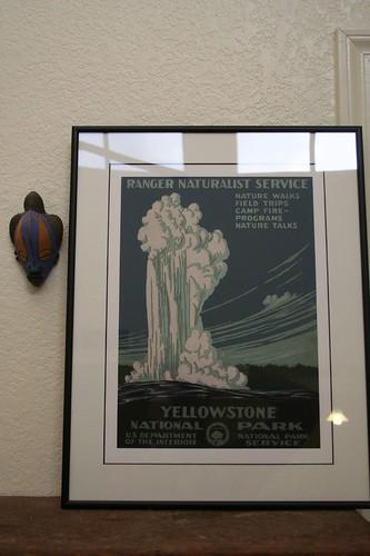 WPA framed print