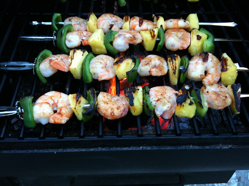 Pineapple Shrimp Skewers