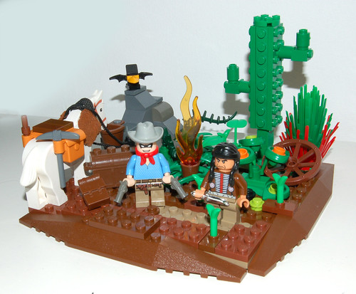 LEGO Lone Ranger and Tonto
