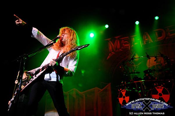 Megadeth Live 2010
