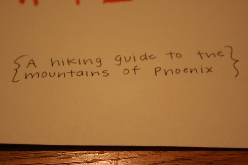 Phoenix Hiking Guide