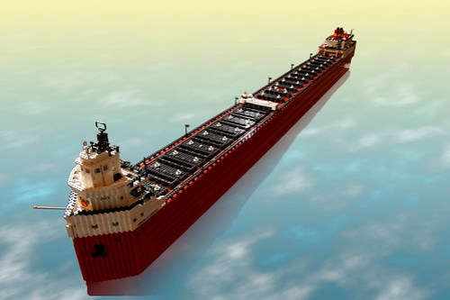 LEGO SS Edmund Fitzgerald