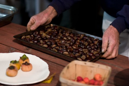 Edible Forest Gardens: roasted chestnuts