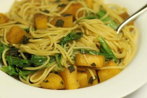 pumpkin sage pasta