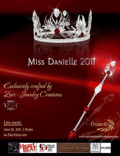 DANIELLE AD MissD2011