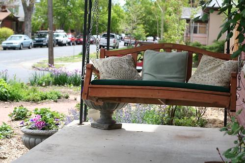 Neighbor's porch