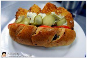 [西餐]漢堡類 塔塔醬鮮魚堡