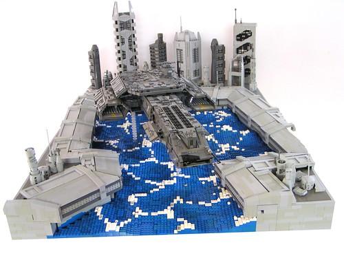 Daedalus landing : The Brothers Brick : LEGO Blog