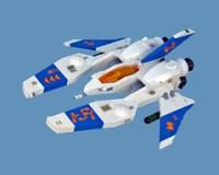 LEGO Vic Viper by nnenn