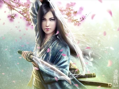Warrior Princess Girl 3