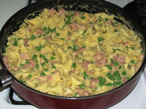 Ham and Noodle Bake