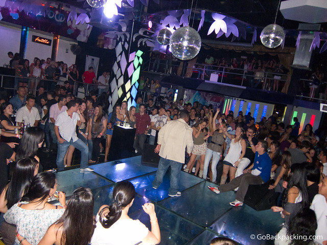 Prizma discoteca in barrio Colombia