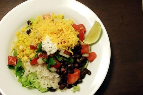 late-night burrito bowls