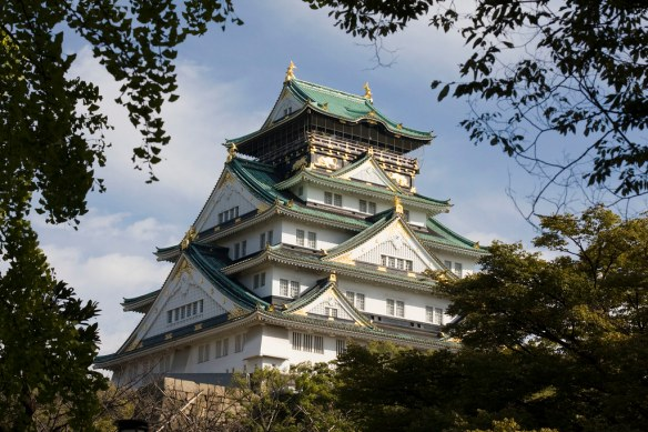 Osaka Castle by MShades, on Flickr