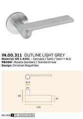 IN.00.311 OUTLINE LIGHT GREY