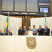 Sessão Solene para entrega do título de Cidadão Honorário do Paraná ao desembargador Telmo Cherem. Fotos: Sandro Nascimento (Alep / crédito obrigatório)