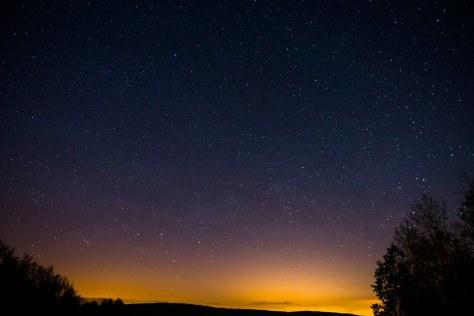 Northern Sky at Night