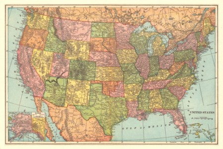 vintage maps 1 united states | flickr photo sharing!