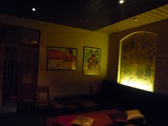 Seating Area at Double Happiness