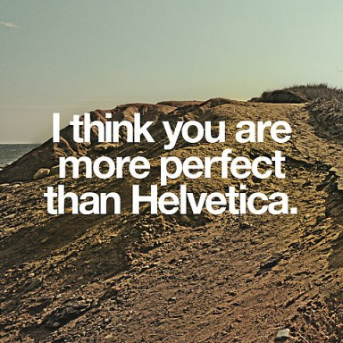 More perfect than Helvetica