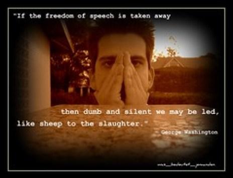 The Cost of  Free Speech by was_bedeutet_jemanden