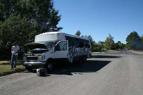 Aloft in the Sundry, Tour 2009