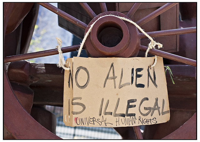 No Alien is Illegal