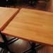 Refuel Neighbourhood Restaurant & Bar | New butcher block tables