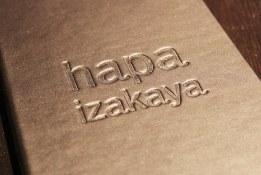 Menu covers   Hapa Izakaya   Scout Magazine