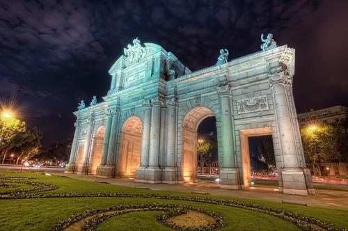 Puerta de Alcalá, Madrid HDR
