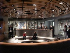 Inside the renovated Museum of Anthropology