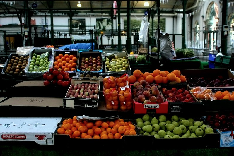 St Georges Market. Thursday morning.