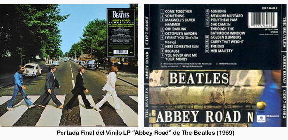 Portada del álbum Abbey Road de The Beatles