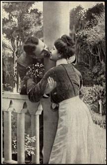 Romantisk par, ca. 1917