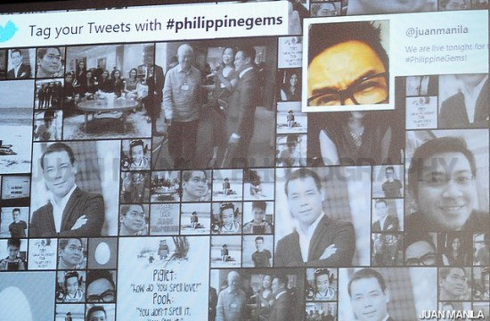 Tweets are coming in with hashtag #PhilippineGems and we are one of those who tweeted first!