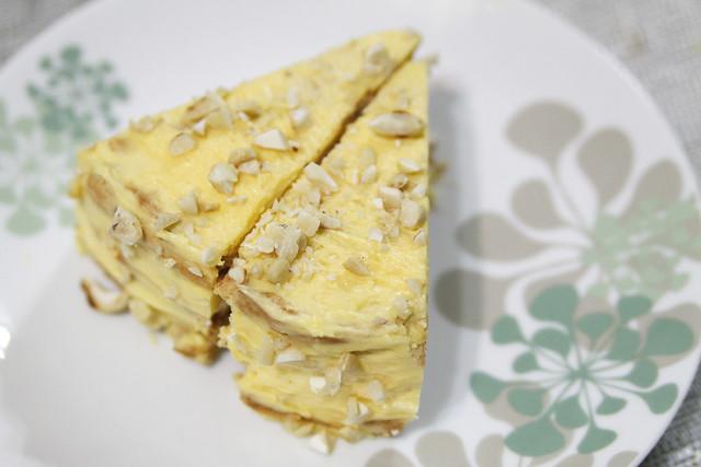 Sansrival Cake From Gold Ribbon