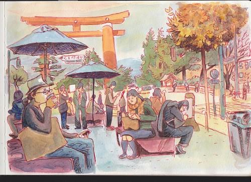 Japan sketchbook
