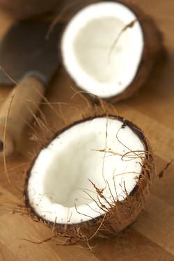 split coconut