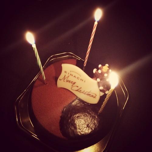 キハチのチョコレートケーキ