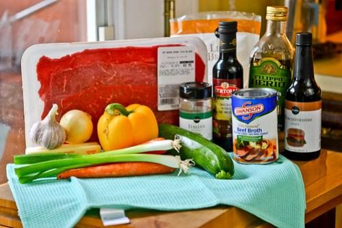Balsamic Glazed Steak Rolls-1