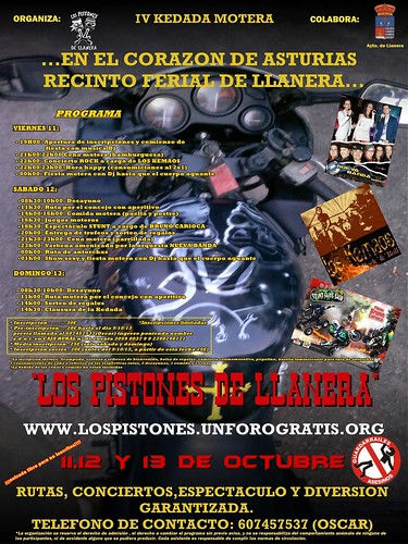 IV KEDADA MOTERA LOS PISTONES DE LLANERA