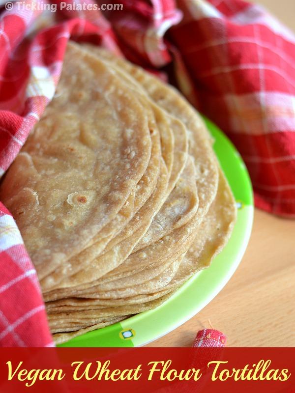 homemade whole wheat flour tortillas recipe