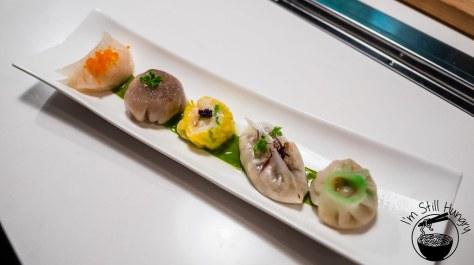Love on top, tasting plate, potts point, dumplings