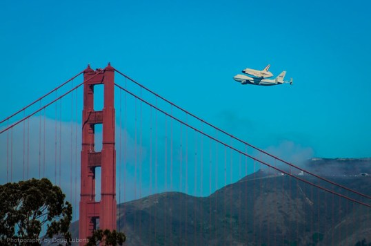Shuttle Golden Gate Bridge