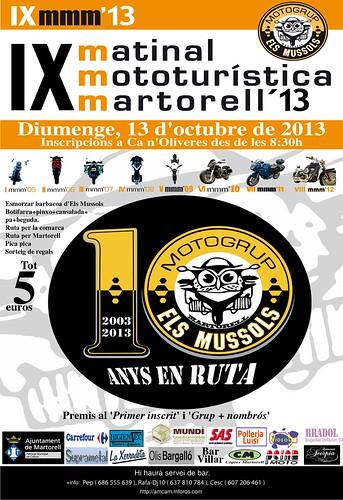 IX Matinal Mototuristica Martorell